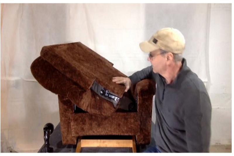 Eenvoudige handleiding voor het demonteren van de elektrische reclinerschakelaar